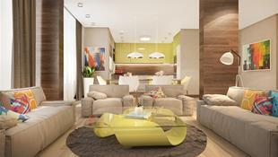 Ngôi nhà rực rỡ sắc màu của người yêu phong cách nhiệt đới