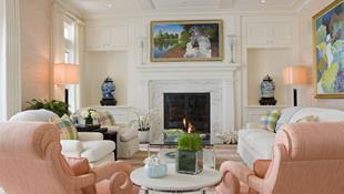 Cho phòng khách vẻ đẹp mơ màng để đón thu sang với gam màu pastel