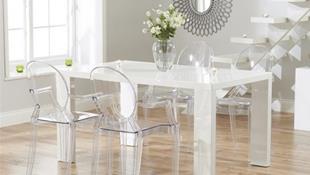 Loạt mẫu bàn ăn đẹp không góc chết dành riêng cho gian bếp nhỏ