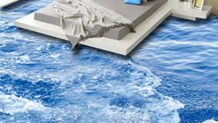 17 sàn nhà 3D gây hiệu ứng mạnh mẽ biến nhà bạn thành chốn 'bồng lai tiên cảnh'