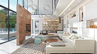 Những mẫu phòng khách liền với bếp giúp không gian trong nhà rộng mở