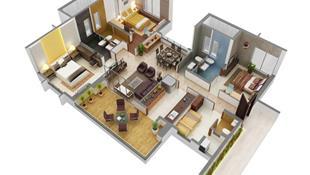 8 thiết kế căn hộ 3 phòng ngủ cực thông minh để đáp ứng nhu cầu sinh hoạt của gia đình nhiều thế hệ