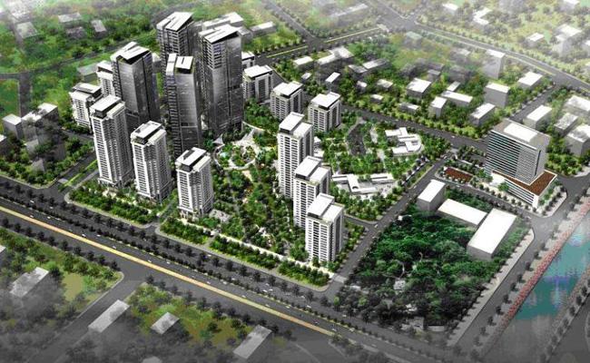 Quần thể khu đô thị cạnh Dự án Tứ Hiệp Plaza