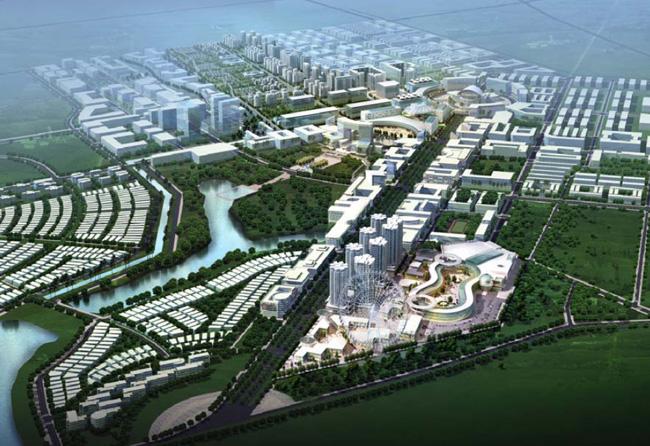 Phú Điền - Hình ảnh khu đô thị Tokyu Bình Dương