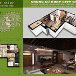 Bán 10 căn hộ cuối tại Ruby City 2 Long Biên chiết khấu khủng 6% + xe máy Vision + máy giặt