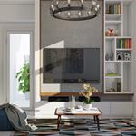 Cho thuê căn hộ chung cư tại M-ONE Q7 60m2 2PN 17 triệu/thang