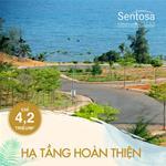 Bán đất nền biệt thự khu Sentosa villa biển Mũi Né giá từ 4.5 triệu/m2, sổ riêng từng nền