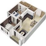 Mở bán đợt 1 căn hộ mặt tiền đường Đào Trí 3 mặt view sông giá từ 1,3 tỷ/ căn CK 18%