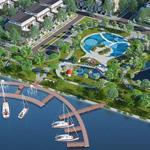 Bán đất biệt thự sinh thái view sông, ngay trung tâm TT Bến Lức, 120m2, 600 triệu