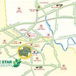 Cần sang nhượng lại lô đất Five Star Eco City, giá rẻ hơn CĐT 3tr/m2