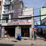 Cho thuê nhà phốQuận 8TP.HCM, mặt tiền đường, Hưng Phú, Sổ hồng