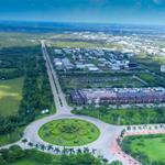 Bán lô góc 196m2, sổ hồng, 2 mặt tiền đường lớn ( 24, 30m), View công viên, đường đại lộ.