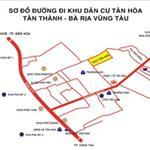 Bán đất Tân Thành gần ngã 3 Hội Bài giá 3.6tr/m2 thổ cư, SHR