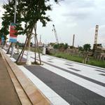 Đất mặt tiền đường 16m dẫn vào làng đại học, gần chợ Long Phước, Q9, thổ cư 100%, XDTD