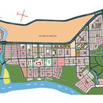 Bán nền đất nha phố  khu Huy Hoang