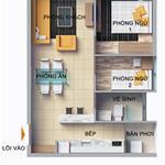 Căn hộ 2 phòng ngủ 70m2 liền kề Hồ bán nguyệt quận 7.