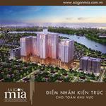 Căn hộ Sài Gòn Mia liền kề quận 1 giá chỉ từ 1,8 tỷ/căn CK 5-18%, tặng NT+phí QL