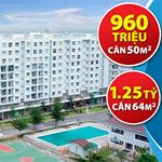 Bán căn hộ ehome 3 quận bình tân, nhận nhà ở ngay, có sổ hồng riêng. 960 triệu/căn