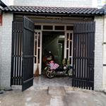 Bán nhà cấp 4 mặt tiền Bà Điễm 4 đường nhựa 10m có lề đường, 4,5x37m, sổ hồng riêng.