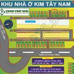 Bán đất KDC Kim Tây Nam- Tây Lân , Cam kết Lợi Nhuận, Chỉ 33tr/m2