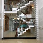Bán nhà quận Gò Vấp phường 13 giá 5.9 tỷ , 1 trệt 3 lầu, nhà mới 100%, vị trí đẹp Phạm Văn Chiêu.