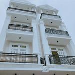 Nhà đã hoàn công cách cầu Bình Lợi, vòng xoay Bình Triệu 500, 1trệt 3 lầu, sân xe hơi.