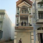 Nhà mới xây ngay chợ hưng long, bình chánh, sổ hồng riêng 1,6 tỷ