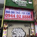 Cho thuê nhà MT: 371C Phạm Ngũ Lão, p.Phạm Ngũ Lão, Q.1, 115 triệu/ tháng
