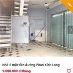 Cho thuê nhà 2 mặt tiền đường Phan Xích Long Lh Chị Anh