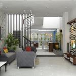 Bán lỗ căn nhà 1 trệt 2 lầu đúc hoàn thiện 100% mặt tiền đường 25m
