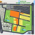 Mở Bán KDC Venica Garden, cạnh CHợ GÒ Ô Môi, CHỉ 50tr/m2.