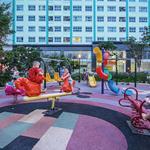 Duplex 133m2 thông tầng 14+15 có sân vườn 35m2 khu Trung Sơn giá net 5.1 tỷ.