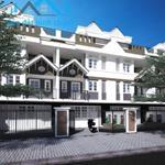 Mở bán nhà phố 1 trệt 3 lầu mặt tiền 44m ngay vòng xoay, dân cư đông, SHR