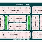 Bán đất dự án Phú Nhuận 2, Quận 2 - (7,1x18,5m) đường thông, giá 65tr/m2