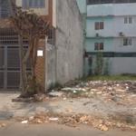 bán đất chính chủ Bình Trị Đông B, Bình Tân, đường Tên Lửa, giá rẻ 1,5 tỷ SHR gần siêu thị