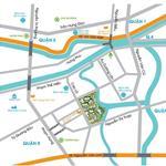 Cần chuyển nhượng gấp căn hộ Topaz City, block A1 chuẩn bị nhận nhà, tầng trung, view Q.1 cực đẹp
