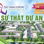 """Thị trường Đất nền sôi động với Dự án Làng Sinh Thái"""" Đất Nam Luxury"""". MT Trần Văn Giàu."""