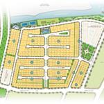 2 nền nhà phố liền kề Q2, thuận tiện kinh doanh, đối diện công viên, có hồ bơi.