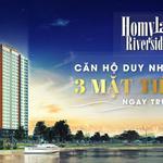 Cơ hội mua căn hộ ở liền giá tốt chỉ 2ty650 bàn giao hoàn thiện-3 mặt sông Tại quận 2