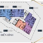 Căn hộ Penta Hoàng Hoa Thám ngay chợ cây Quéo, bán căn hộ 2pn, 66m2 nội thất cơ bản