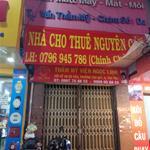 Cho thuê nhà 1 trệt 3 lầu 1 sân thượng mặt tiền CMT8 Q Tân Bình LH Chú Quân 0796945786