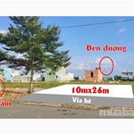 Bán đất Bình Chánh thổ cư, 10x25 giá 990 triệu có  sổ hồng, vị trí đẹp