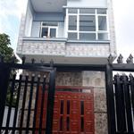 Nhà mới 1 lầu  mặt tiền đường liên ấp 123, giá  1.2 tỷ
