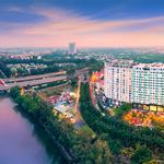 Bán duplex tầng 14+15 - 135m2 + sân vườn 35m2 giá 5.2 tỷ view sông. Gọi 0906856815