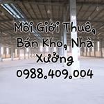 Cho thuê kho xưởng đường Hồ Học Lãm, Bình Tân, dt: 600 m2, 350 m2