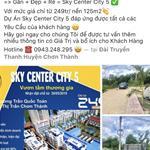 SKY CENTER CITY 5, NƠI ĐẶT CHỌN NIỀM TIN CHO MỘT QUYẾT ĐỊNH ĐẦU TƯ