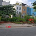 Bán đất mặt tiền đường lớn, đối diện cầu Bà Hom, sổ hồng riêng
