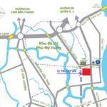 Căn hộ mặt tiền Nguyễn Lương Bằng nhận giữ chỗ 50 triệ/căn. Chủ đầu tư 0906856815