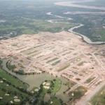 Cần sang nhượng lại 2 nền đất sổ đổ liền kề dự án Biên Hòa New City, 3 mặt giáp sông.