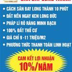 Đất nền hiếm Thổ Cư giấy phép hoàn chỉnh Cách sân bay Long Thành 10 Phút 0902448337